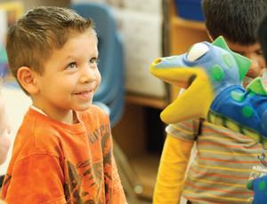 Child at Archways Program