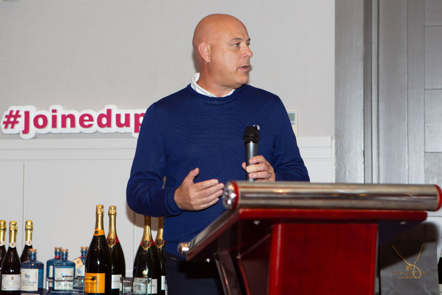 Clive Bellows chairperson golf event 2018