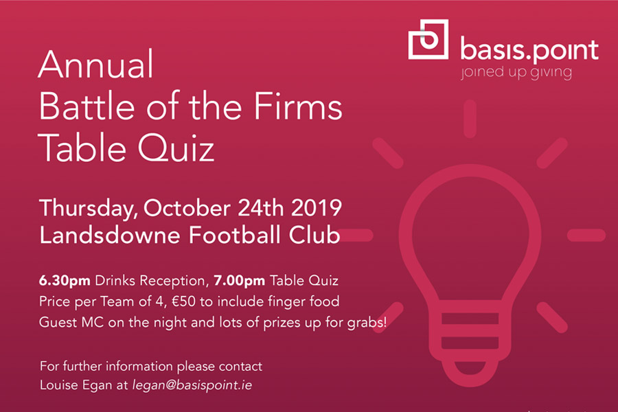 battle of the firms table quiz