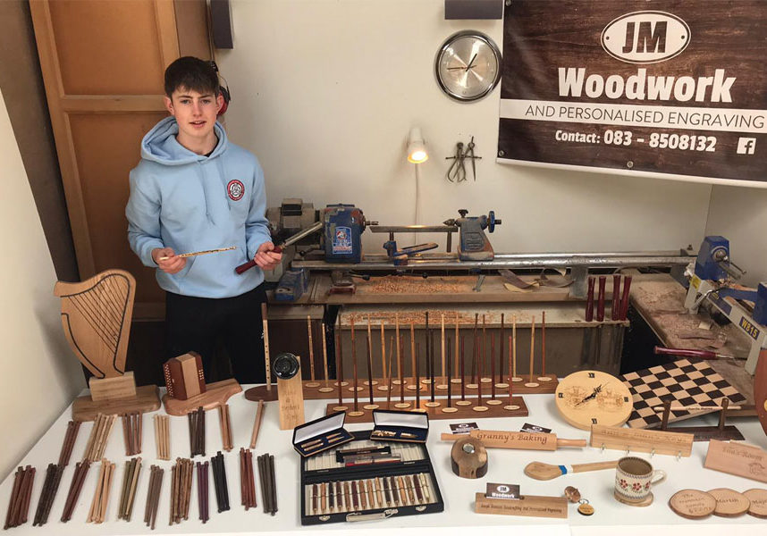 Joseph Mannion took the title of Foróige Youth Entrepreneur of the Year